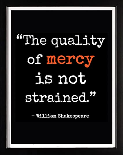 The Merchant Of Venice Quotes | Amazon Com The Quality Of Mercy Is Not Strained William