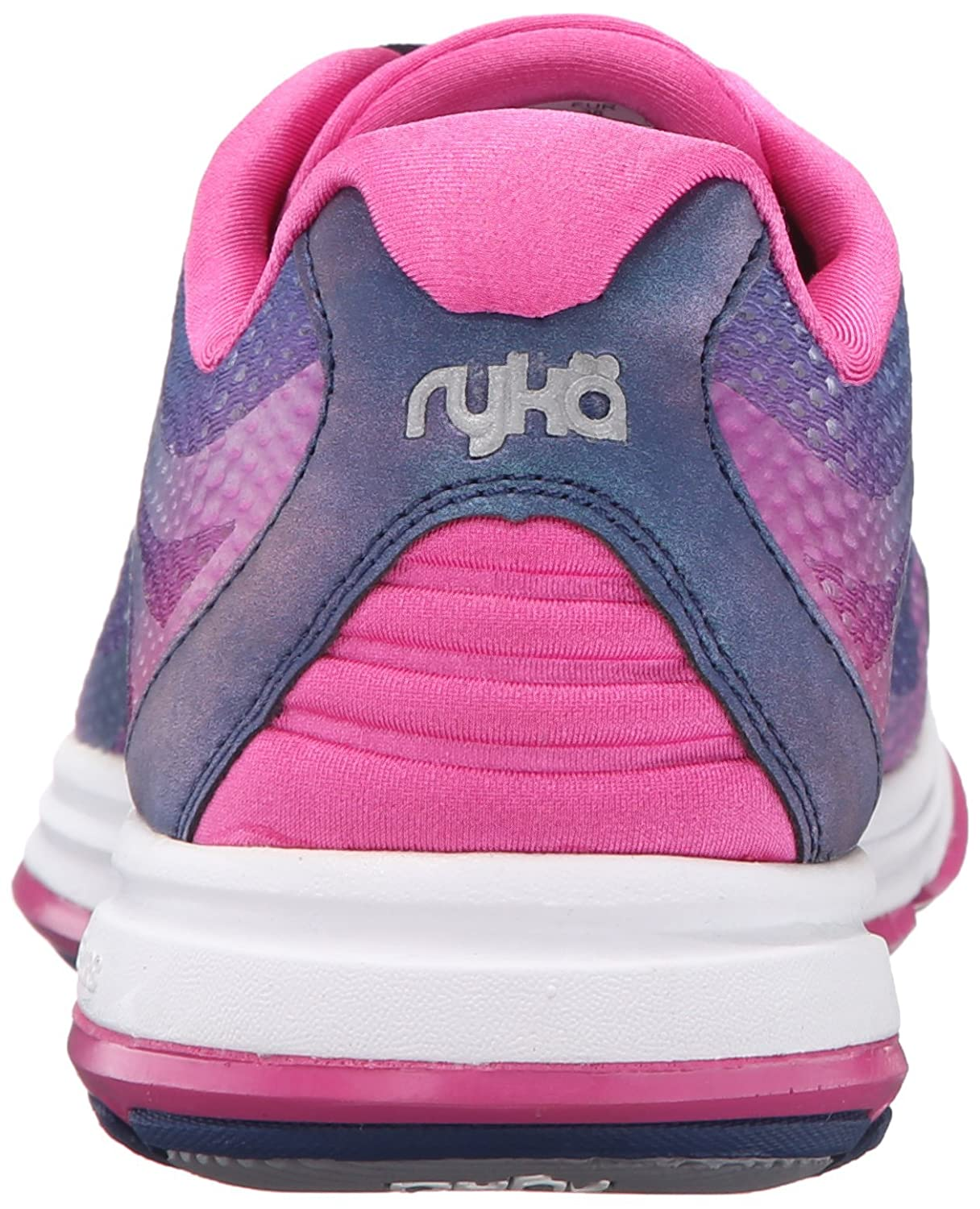 Ryka Women's Devo Plus 2 Walking Shoe B01A62VY4W 6.5 W US|Blue/Pink