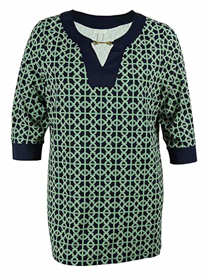 4fd937318b7 Charter Club Women s Printed Tunic at Amazon Women s Clothing store
