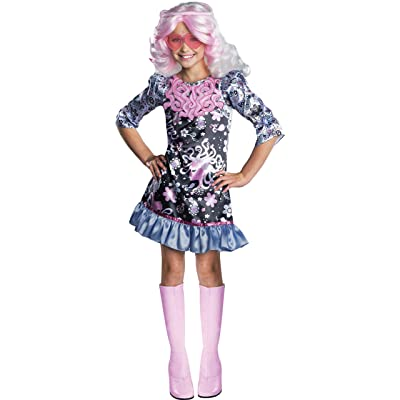Rubies Monster High Frights Camera Action Viperine Gorgon Costume, Child Large: Toys & Games