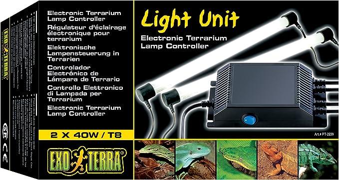 Exo Terra - Controlador eléctrico de lámpara de terrario.