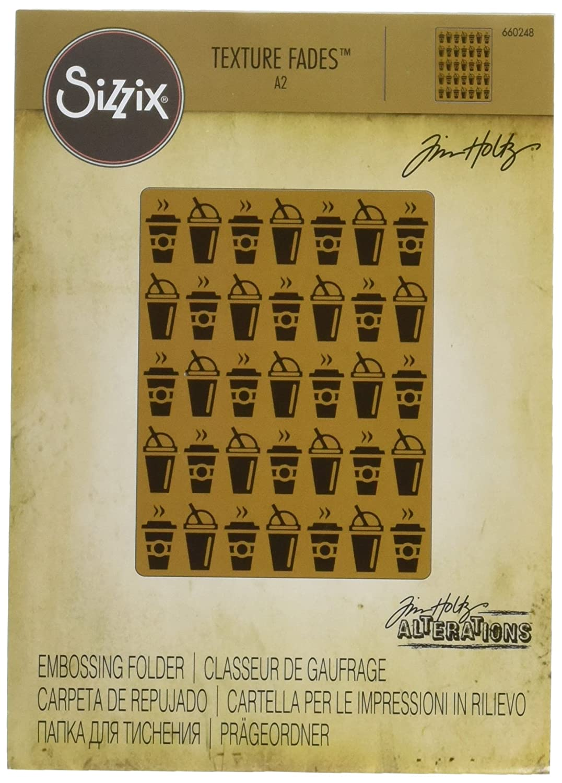 Sizzix 660248 Cartella di Goffratura in Viaggio di Tim Holtz, PP Plastic,, 18.8x13x1.7 cm Ellison Europe
