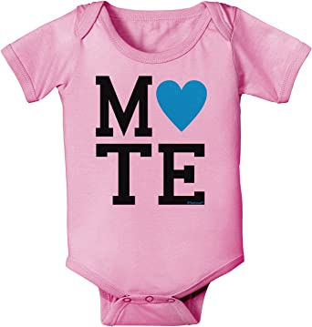 Mate Pink Infant T-Shirt TooLoud Matching Soulmate Design