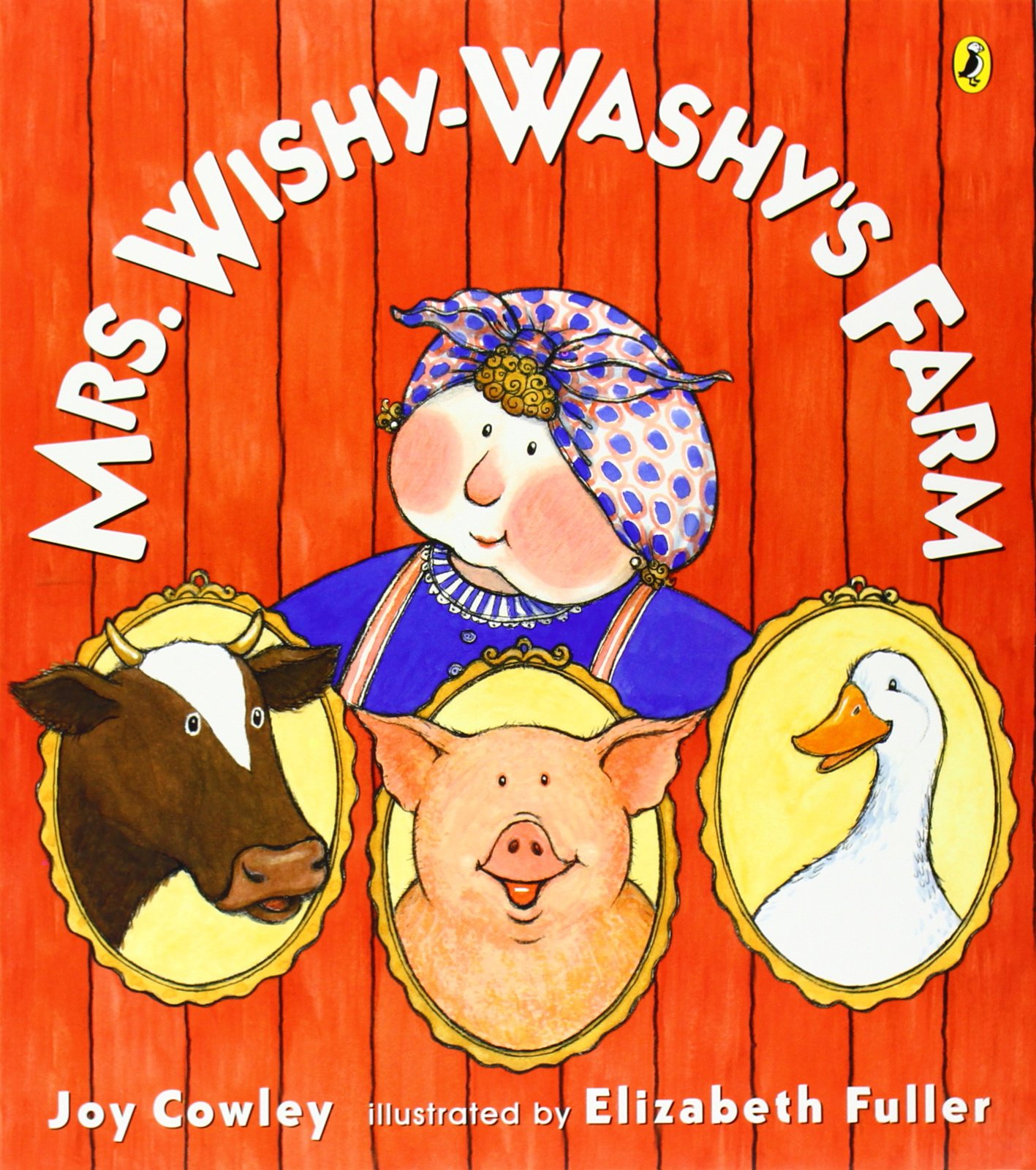 Amazon Com Mrs Wishy Washy And The Big Wash Joy Cowley Collection