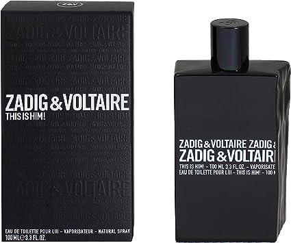 Zadig & Voltaire This Is Him Agua de Tocador - 100 ml/3.4 oz (3423474896257): Amazon.es: Belleza