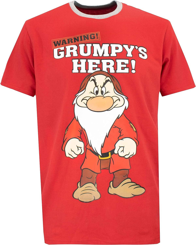 Disney Grumpy Ensemble De Pyjamas Grincheux Homme