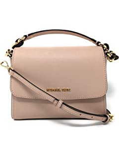 e51d5c54f82d Michael Kors Sofia Small East West Saffiano Leather Satchel Crossbody Bag