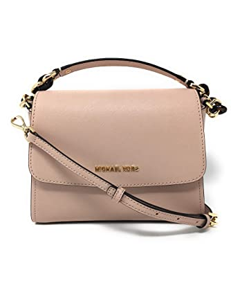 ed35d7b579cbf Amazon.com  Michael Kors Small Sofia Portia East West Satchel Crossbody  Ballet  Shoes