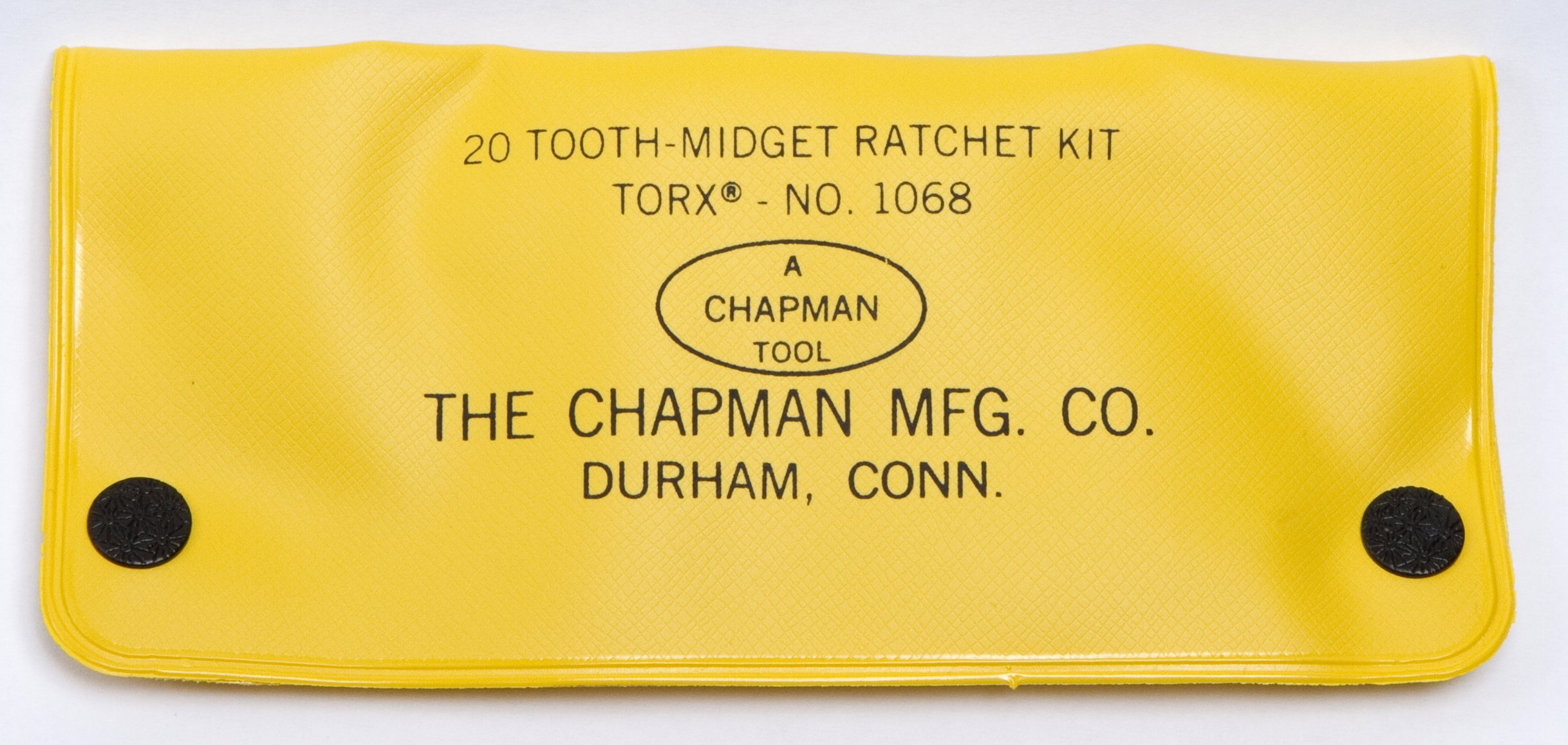Chapman MFG 1068 Star Bits that Fit Torx Screws, Screwdriver Kit 9 Pieces - Includes Midget Ratchet, 7 Star Insert Bits and 1 Spinner packed in a Heavy Duty Vinyl Case all Made in the USA by Chapman MFG (Image #2)