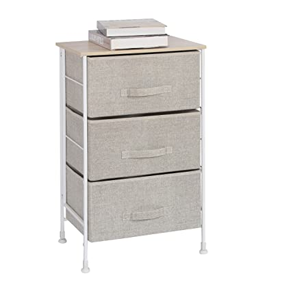 Amazon Com Homexcel Drawer Chest 3 Drawer Storage Chest Dresser
