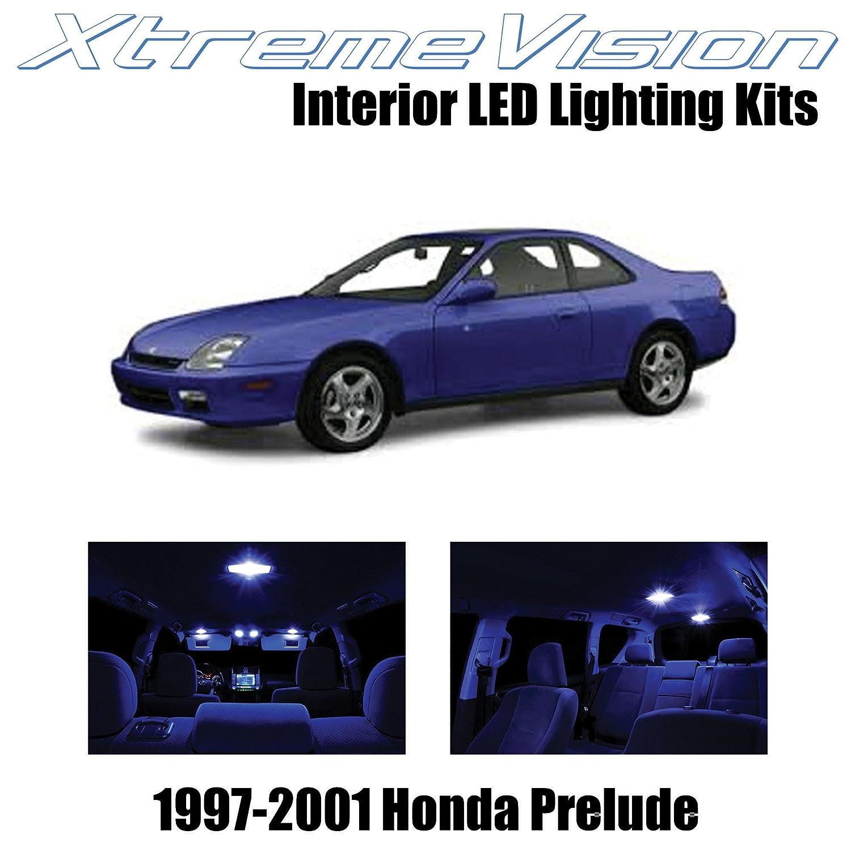 8 Bulbs Xenon White Lamp LED Interior Dome Light Kit For 1997-2002 Honda Prelude
