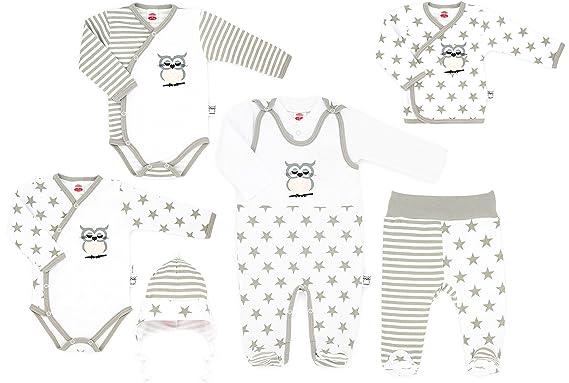 Strampler Set  *Body*Mütze*Söckchen* Mädchen /&Jungen unisex Baby 100/% Baumwolle