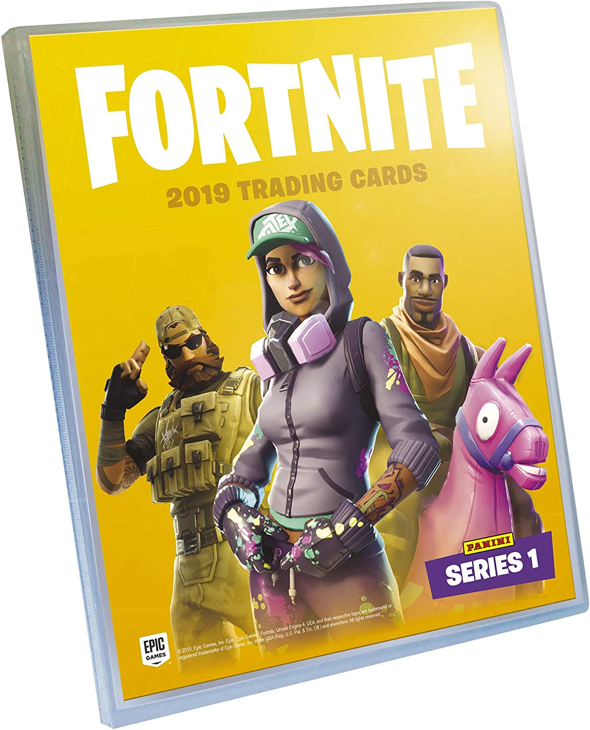 PANINI Fortnite série 1 Trading Cards Series 1 cartes de collection nº # 25 common