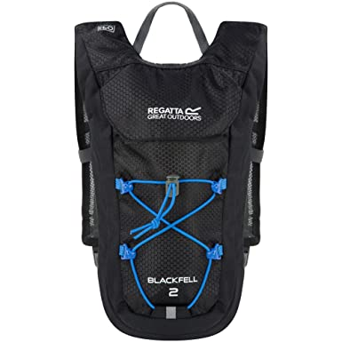 35b94f3a2bb0 Regatta Great Outdoors Blackfell II 2 Litre Rucksack (One Size) (Black)
