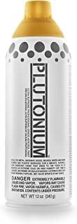 product image for Plutonium Paint Ultra Supreme Professional Aerosol Paint, 12-Ounce, 1st Place Gold Metallic