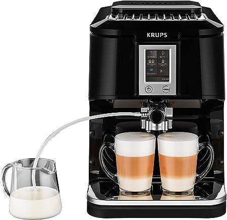 Krups EA8808 Independiente Totalmente automática Máquina espresso 1.7L Negro - Cafetera (Independiente, Máquina espresso, 1,7 L, Molinillo integrado, 1450 W, Negro): Amazon.es: Hogar