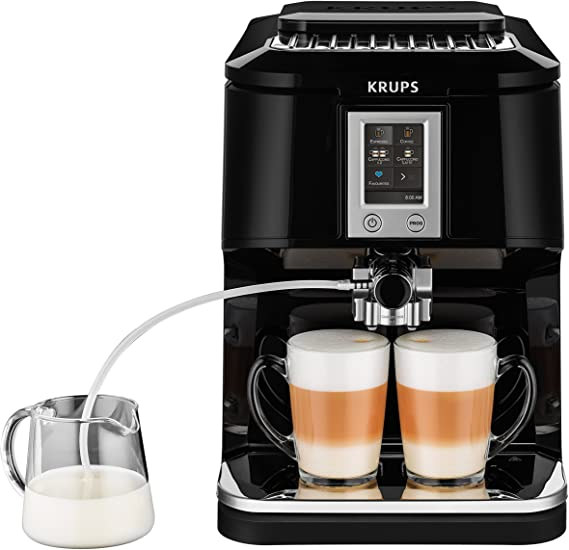 Krups EA8808 Independiente Totalmente automática Máquina espresso ...