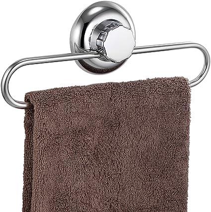 pas de per/çage adh/érer pour salle de bains et cuisine syst/ème de vide Porte /éponge /à ventouse acier inoxydable