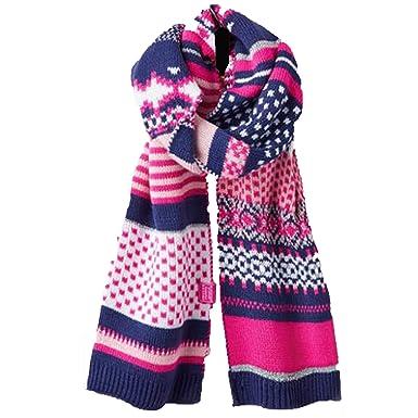 Joules Fair Isle Scarf: Amazon.co.uk: Clothing