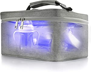 LETORS LED UV Sanitizer Bag for Baby Bottle, Pacifiers, Underwear, Phone Box, Cleaned 99.99% in 60s