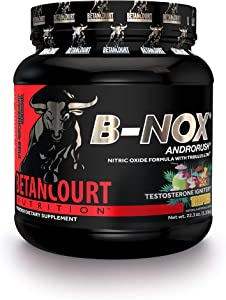 Betancourt Nutrition B-Nox Andorush Pre-Workout, Tropical Punch, 22.3 Ounce
