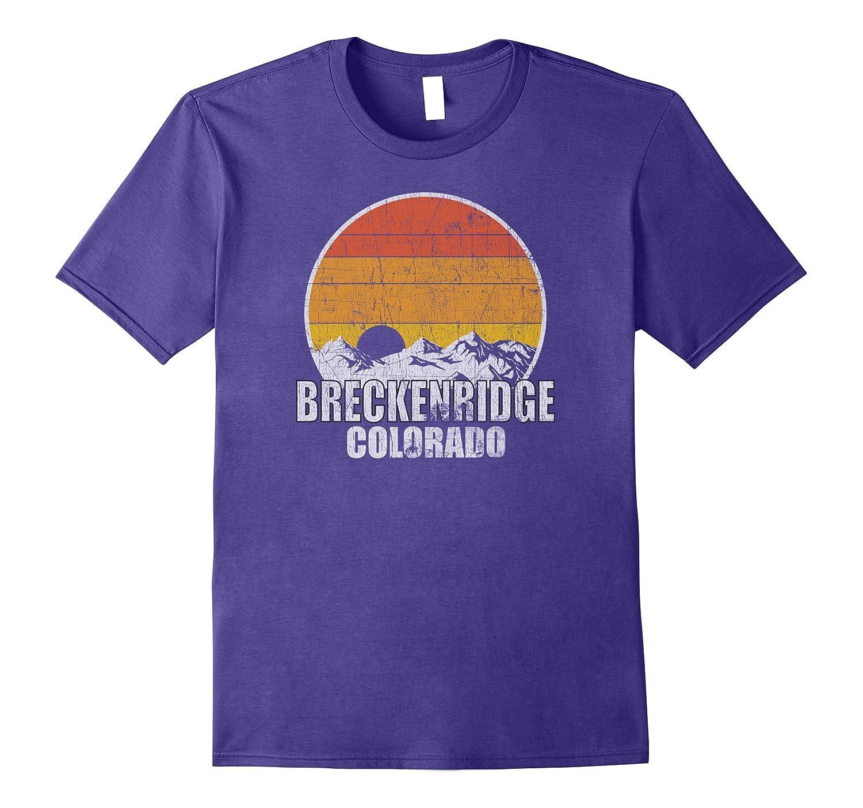 Retro Breckenridge Colorado T-shirt-BN