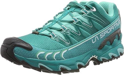 La Sportiva Ultra Raptor Woman GTX, Zapatillas de Deporte para Mujer, Multicolor (Emerald/Mint 000), 37 EU: Amazon.es: Zapatos y complementos