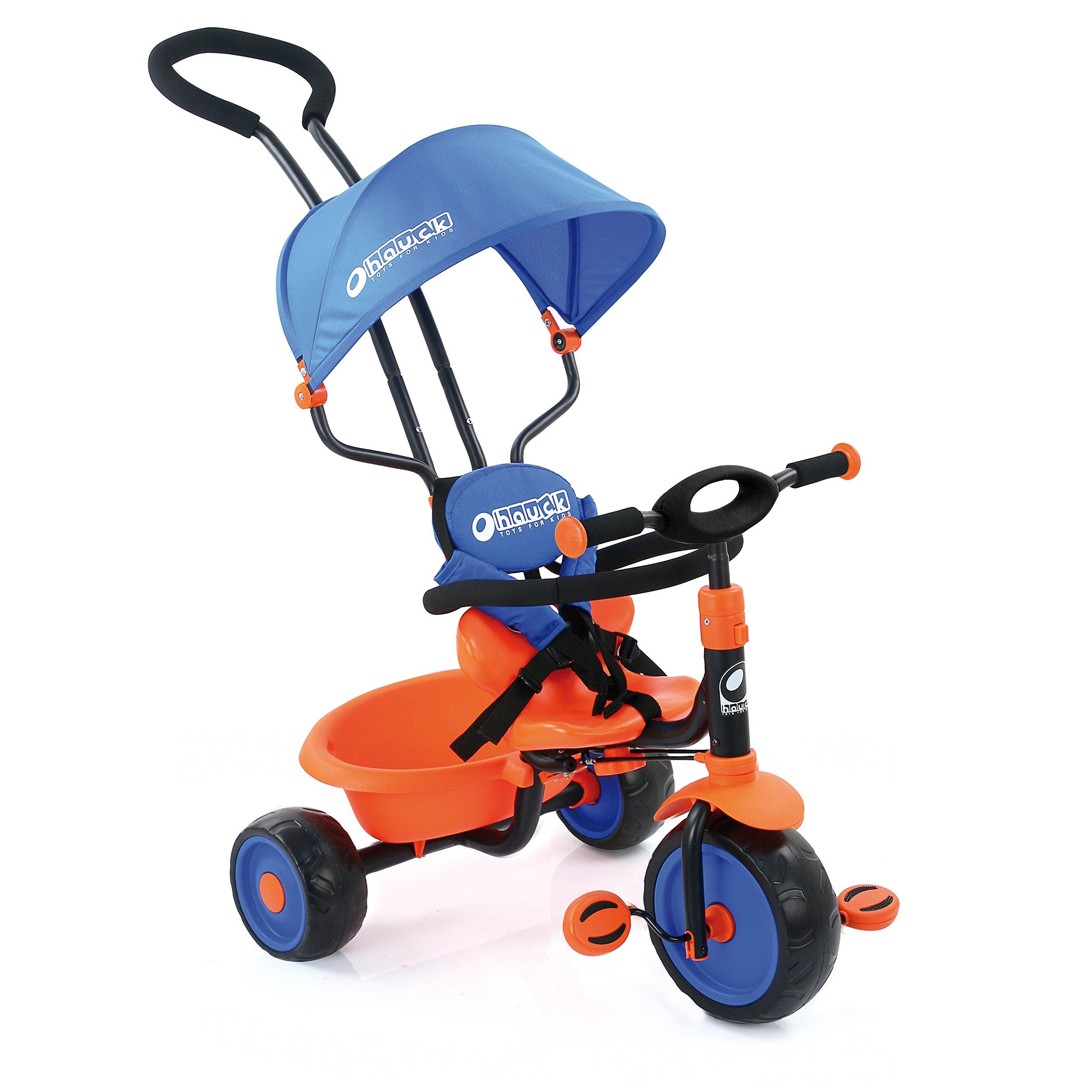 Hauck Explorer Tricycle, Royal Blue/Orange