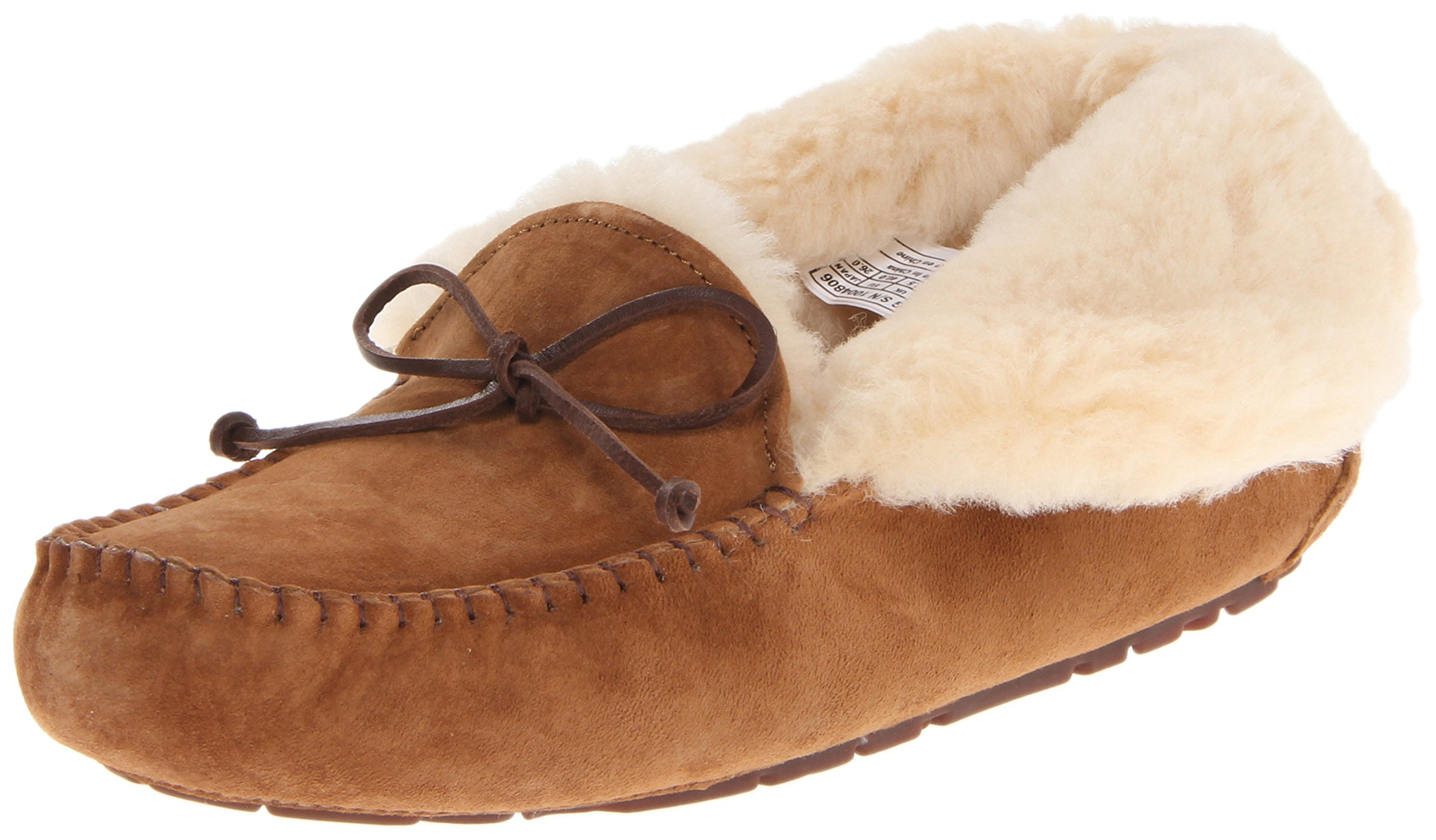 UGG Women's Alena Slipper, Chestnut, 8 B US