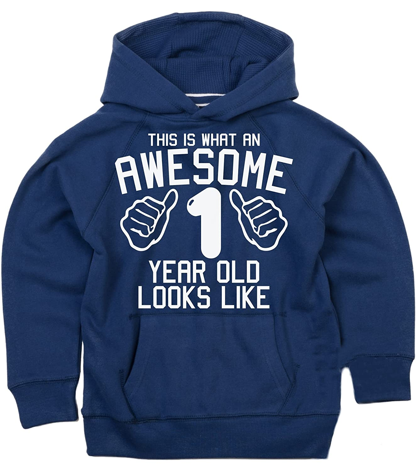 Edward Sinclair This is What an Awesome 1 Year Old Looks Like 1st Birthday Hoodie 1-2 Years