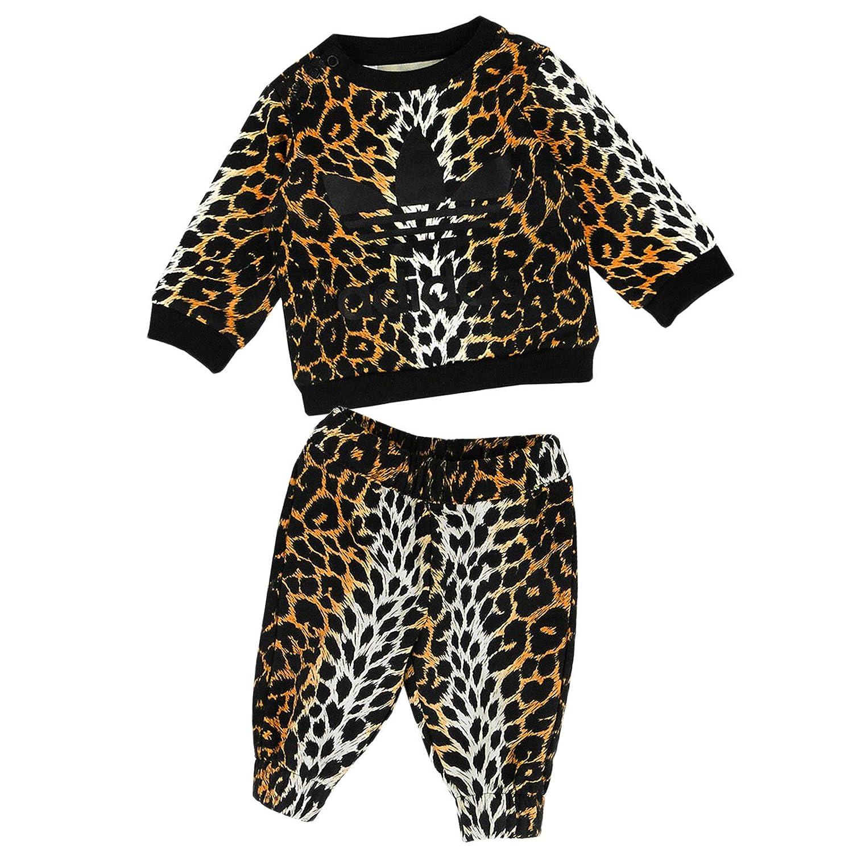 cecc5616465c Adidas Originals - Baby Jogger - Jeremy Scott Tracksuit - Sports Training  Suit - Leopard 62 - Leopard, UK 0-3 Months: Amazon.co.uk: Sports & Outdoors