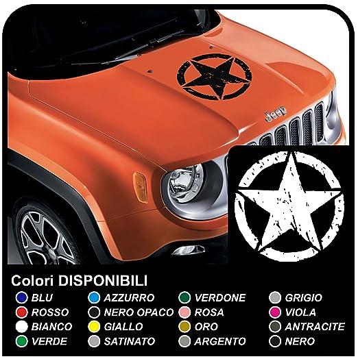 2 opinioni per adesivo per cofano jeep renegade stella da apporre sul cofano effetto consumato
