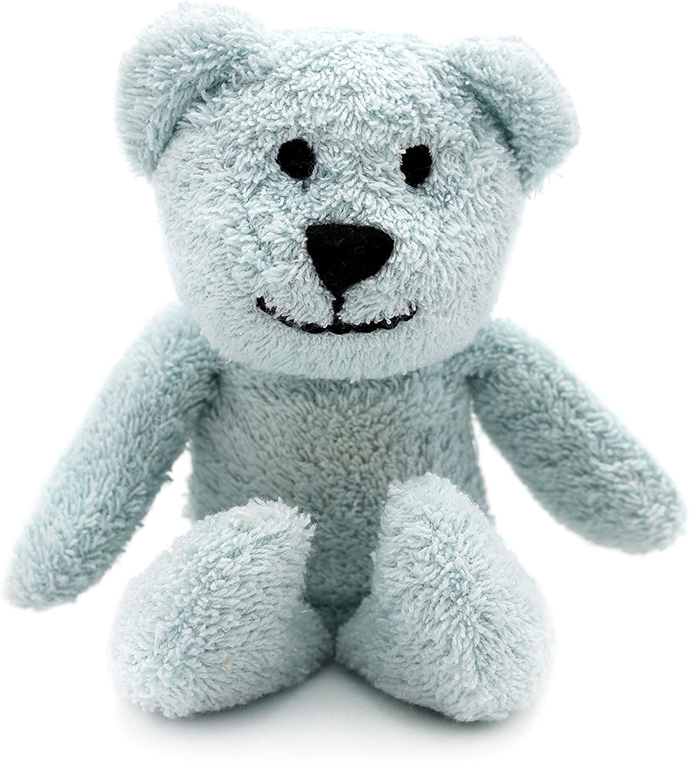 Thermal-Aid Zoo — Mini Buckley The Blue Bear — Kids Hot and Cold Pain Relief Boo Boo Tool — Heating Pad Microwavable Stuffed Animal and Cooling Pad — Easy Wash, Natural Sleep Aid: Health & Personal Care