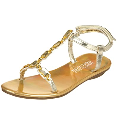 a6540236a97 Kenneth Cole REACTION Toddler Little Kid Shine On 2 Sandal