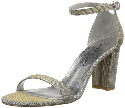 0a7cb9c4faf Stuart Weitzman Women's Nearlynude Heeled Sandal