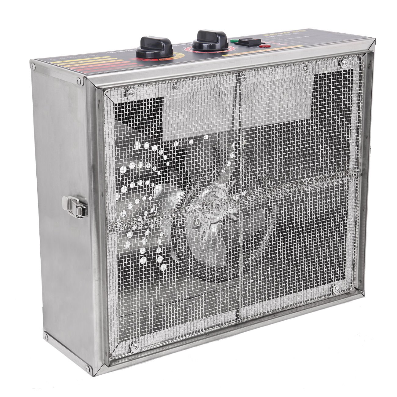 Ridgeyard 1000W Dehydrator Commercial Grade Stainless Steel Digital Food Dehydrator Jerky Dryer 10 Trays 158 Degree Fahrenheit with 15 Hour Timer by Ridgeyard (Image #6)