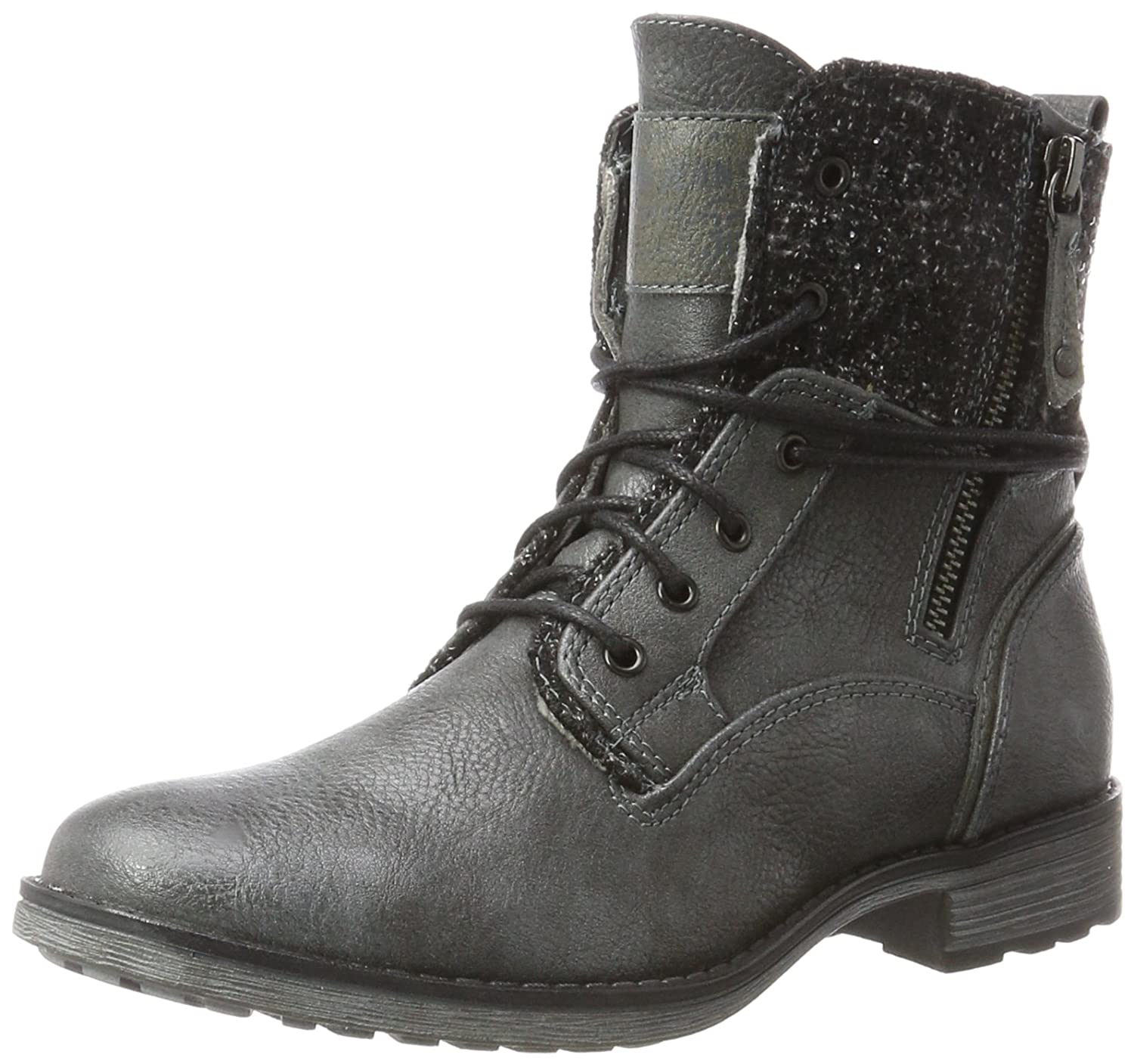Mustang Femme, 1265-504-259, Bottes (Graphit) Femme, Gris 12161 Gris (Graphit) ef837e7 - conorscully.space