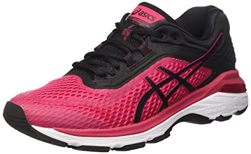 Asics Women's Gt-2000 6 Competition Running Shoes, Pink (Bright Rose/Black