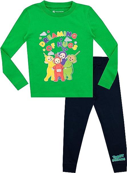 AME Sleepwear Teletubbies Cotton Toddler Pajamas for Little Boys
