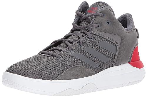 check out 502f0 887ec Adidas Mens CF Revival MID Basketball Shoe, Grey FiveScarlet, 6.5 Medium  US