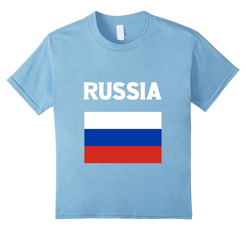 c641dc27f Amazon.com: Russia Flag T-Shirt Russian Flag Tee Shirt: Clothing