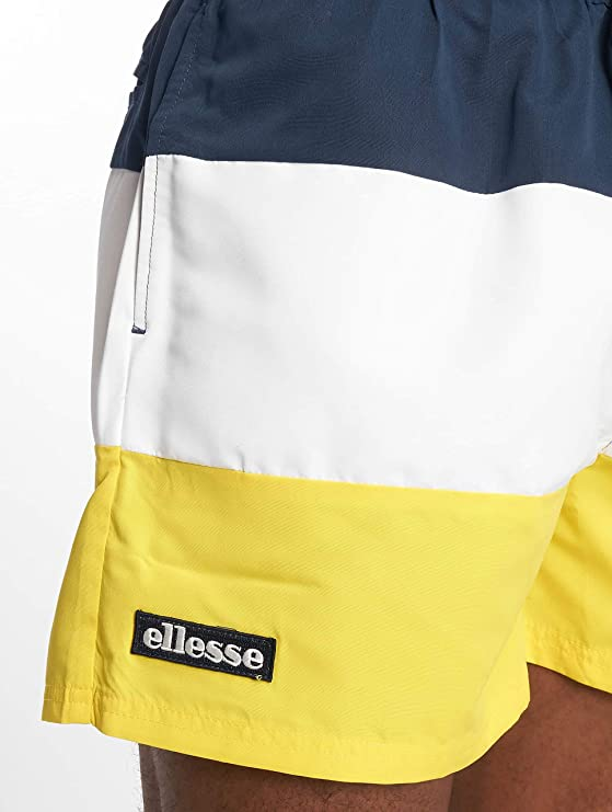 ab5abebdf0 ellesse Mens Cielo Yellow Shorts | Amazon.com