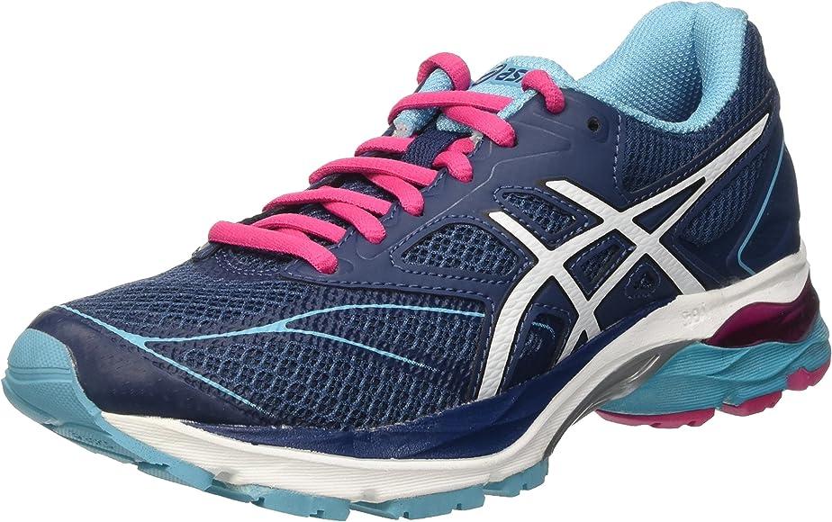Asics Gel-Pulse 8, Zapatillas para Mujer, Azul (poseidon/white/sport pink), 37: MainApps: Amazon.es: Zapatos y complementos