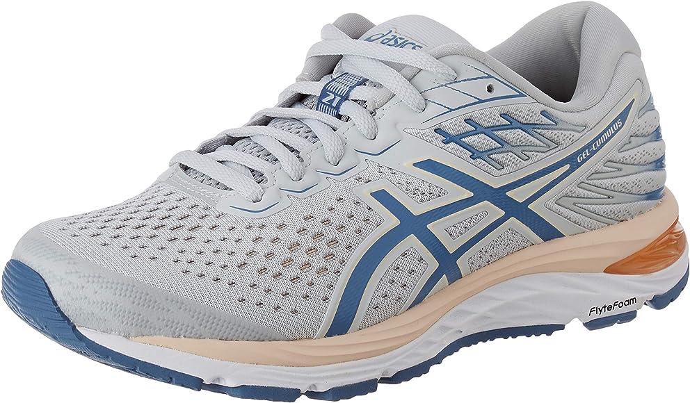 Asics Gel-Cumulus 21, Road Running Shoe para Mujer, Sombra Polar/Hilo Gris, 36 EU: Amazon.es: Zapatos y complementos