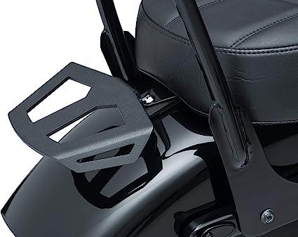 Slotted Micro Luggage Rack Kuryakyn 5783 Motorcycle Accessory Wrinkle Black Universal Fit