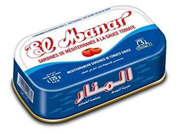 El Manar 4.4-oz Canned Sardines In Tomato Sauce