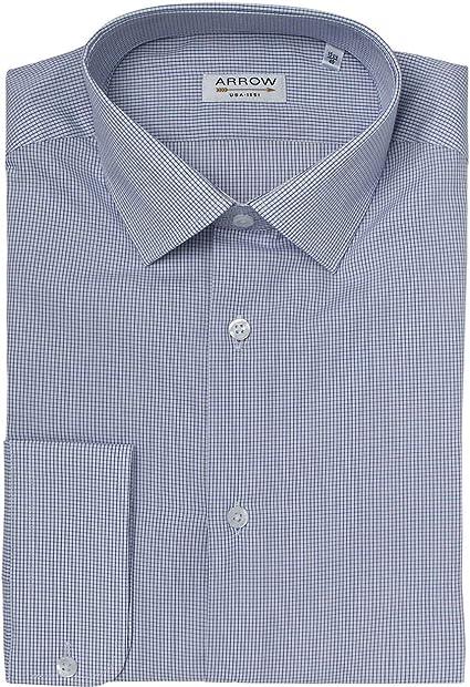 Arrow - Camisa (tamaño pequeño), diseño de cuadros, color ...