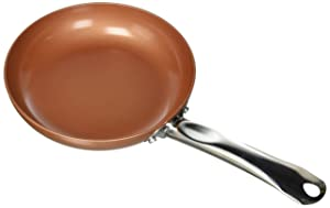 "Copper Chef A-00438-19 8"" 8"" Round Fry Pan, 8"" Copper"