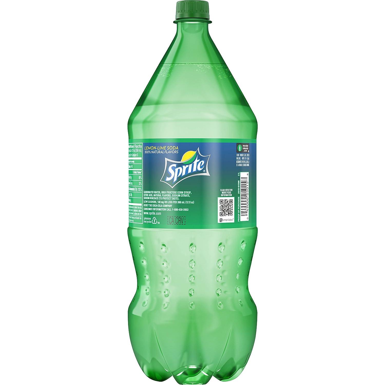 amazon com sprite lemon lime soda soft drink 2 liters grocery