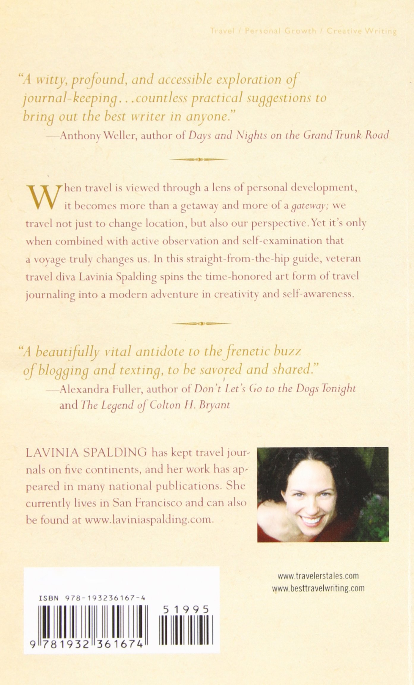 Writing Away: A Creative Guide To Awakening The Journalwriting Traveler  (travelers' Tales): Lavinia Spalding: 9781932361674: Amazon: Books